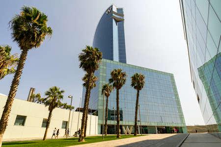 Wela hotel in Barcelona, Catalonia, Spain.