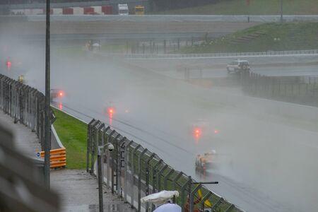 Endurance series race at Circuit of Barcelona Catalunya Stockfoto
