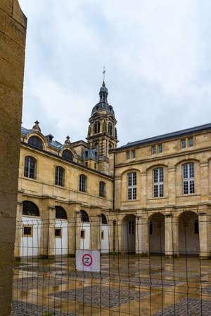Eglise Notre Dame church in Bordeaux, France.
