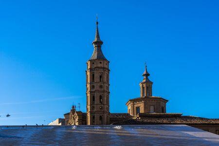 San Juan de los Panetes church in Zaragoza, Spain
