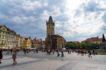 Old Town City Hall Prague in Czech Republic
