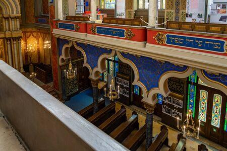 Jubilee Synagogue Prague in Czech Republic