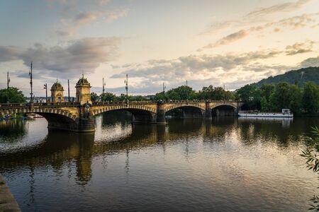 Bridge of Legions Prague in Czech Republic