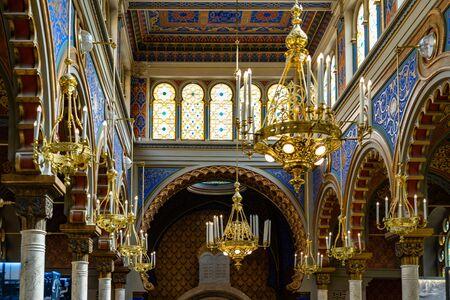 Jubilee Synagogue Prague in Czech Republic Stock Photo