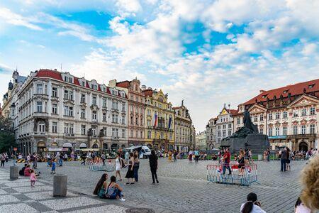 Old Town Square Prague in Czech Republic