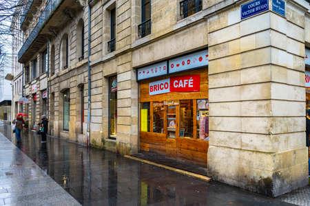 The Grosse Cloche in Bordeaux, France. 新闻类图片