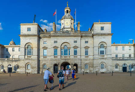 Horse Guards in London, UK.