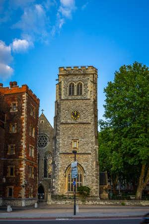 Morton's Tower in London, UK. 新闻类图片