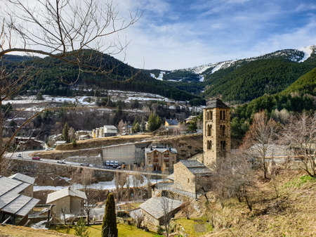Pal Village in Andorra Pyrenees Mountains