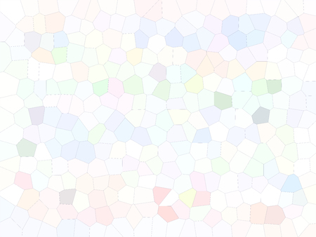 Mosaic abstract background made of many polygonal tiles