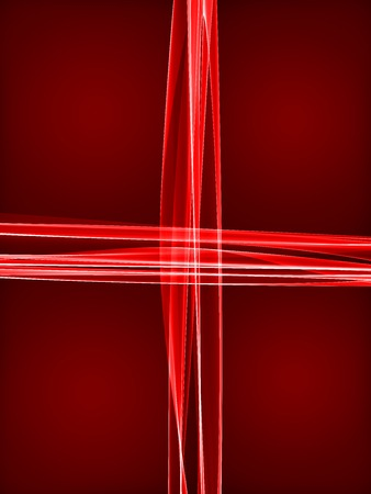 Creative color abstract business flame wave background with cross