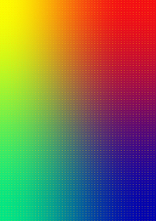 Spectrum color radial gradient background. High quality color space. Extra fine grain for perfect gradient printing without banding.