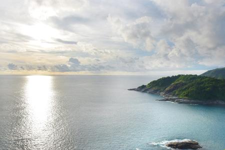thep: Beach of Thailand, phuket province,Laem Phrom Thep