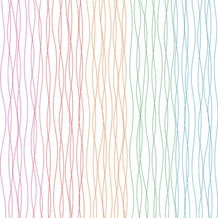 repeating: Colorful seamless wavy pattern. Repeating vector texture Illustration