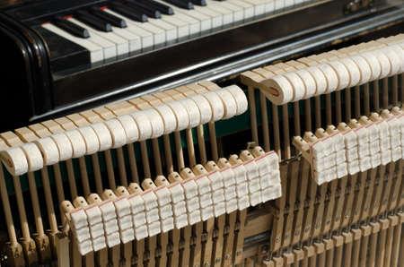 mechanics of the piano