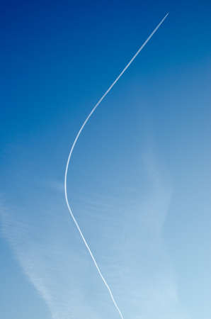 Airplane Curvature Stock Photo - 25397452