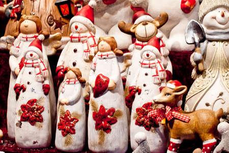 Christmas toys, Santa, reindeer, snowman 1 photo