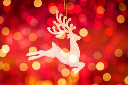 christmas reindeer: Santa Clause reindeer Rudolph