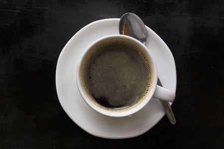 black coffe photo