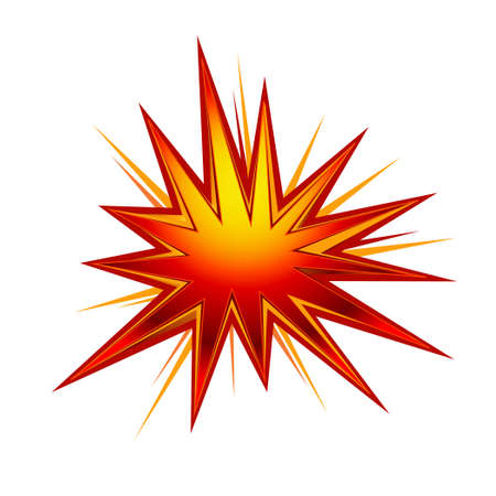 powerful volcano: explosion