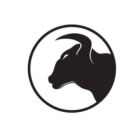 bull symbol  Vector
