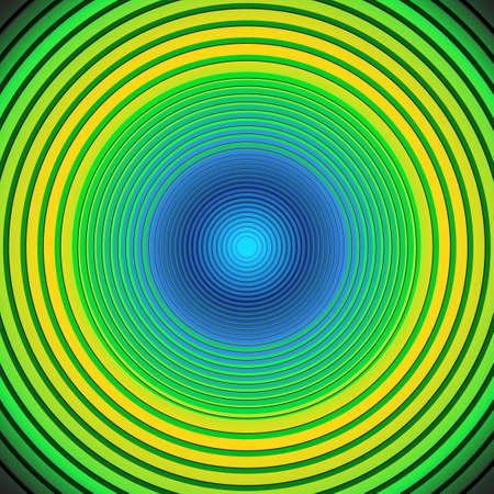 vertigo: retro circles background with copy space vector