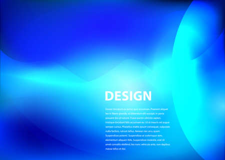 smooth background: blue smooth background design with copyspace