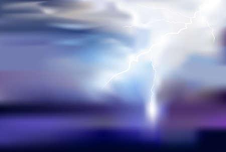 lighting background: thunder, lighting vector background