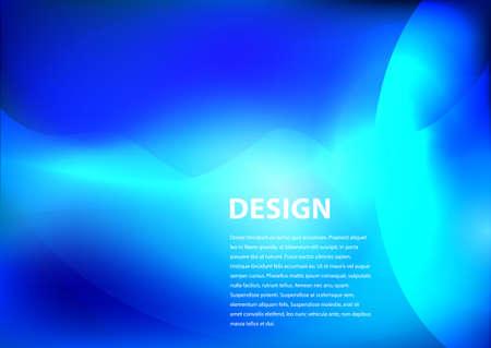 smooth background: sfondo blu disegno liscio con copyspace