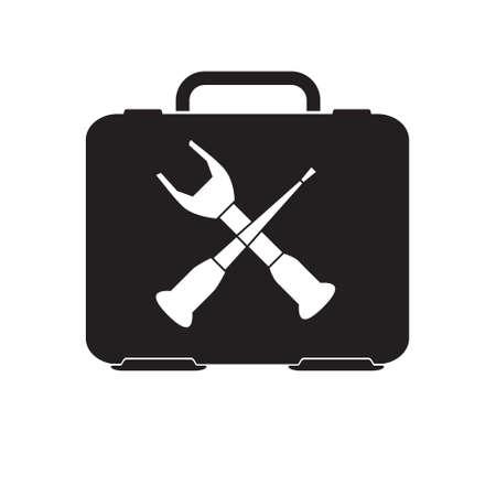 revamp: toolbox icon, repair symbol vector