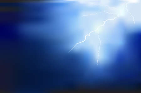 dazzle: thunder lighting background vector