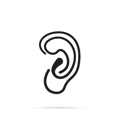 symbol vector: ear symbol vector