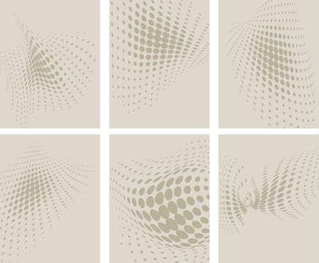 fading: halftone pattern background vector illustration