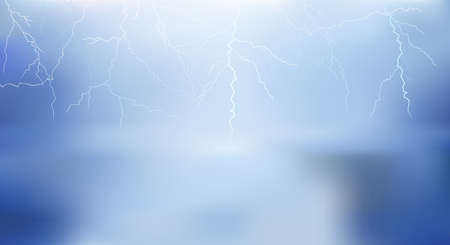 lighting background: thunder lighting background vector