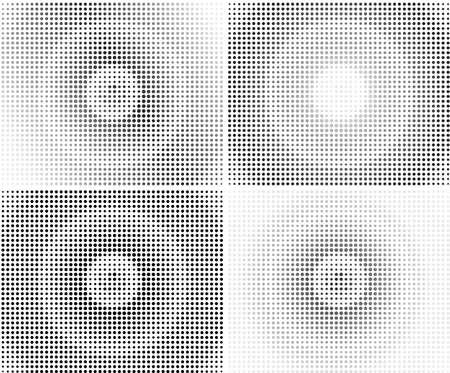 fade: halftone pattern background vector illustration