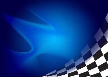race flag  background vector illustration Ilustração