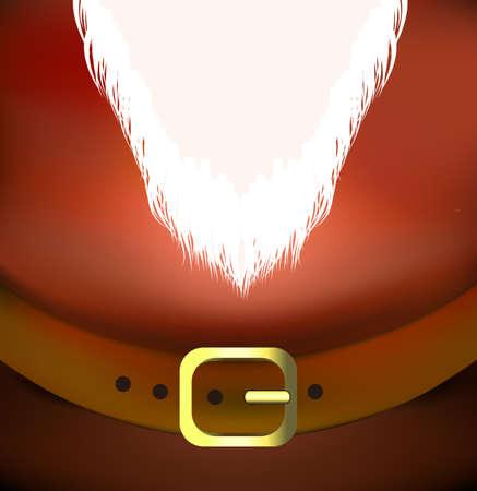 holyday: santa belt vector holyday background Illustration