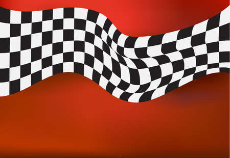 racing: racing background checkered flag wawing