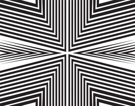movement: opart background editable vector opticaly movement Illustration
