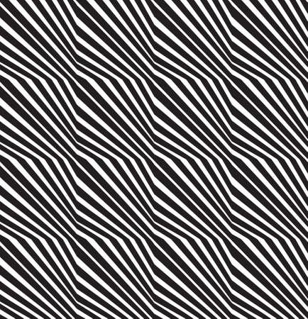 arte optico: sin fisuras arte óptico vector patrón de fondo Vectores