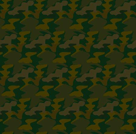 commando: Camouflage seamless pattern background vector Illustration