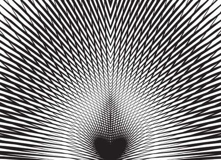 escher: optical art background black and white vector