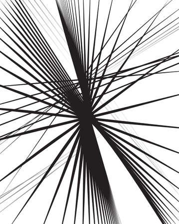 randomness: Random lines abstract background. Modern, minimal  art like graphics
