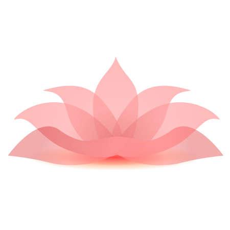 illustratie van de lotusbloem pictogram teken symbool