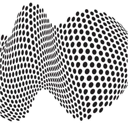 arte optico: puntos abstractos arte �ptico op art fondo