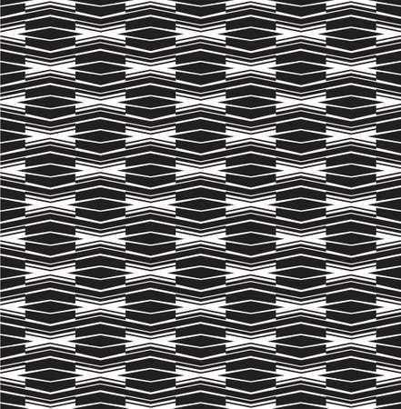 arte optico: seamless optical art pattern background vector black and white