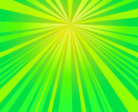 green burst,  starburst rays background vector design Ilustração