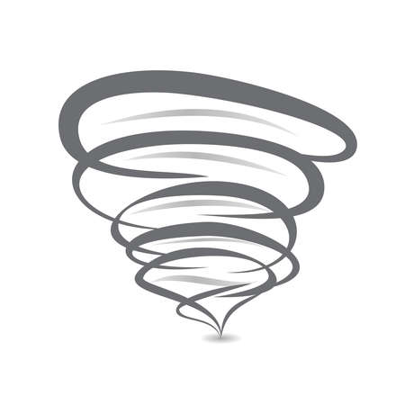 twister: twister symbol vector sign of tornado spiral