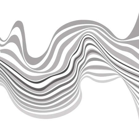 mobius strip: mobious optical art wave vector background black and white