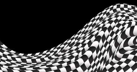 race flag: checkered flag background race flag design vector